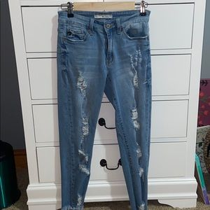 KanCan ripped jeans